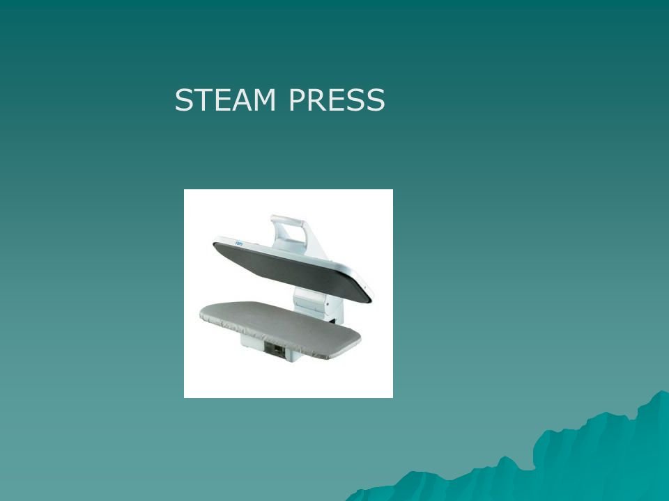 STEAM PRESS
