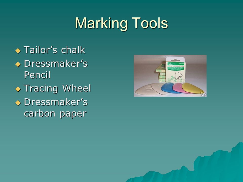 Marking Tools Tailor's chalk Dressmaker's Pencil Tracing Wheel