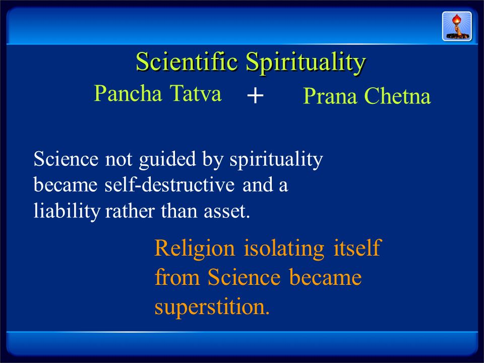 Scientific Spirituality