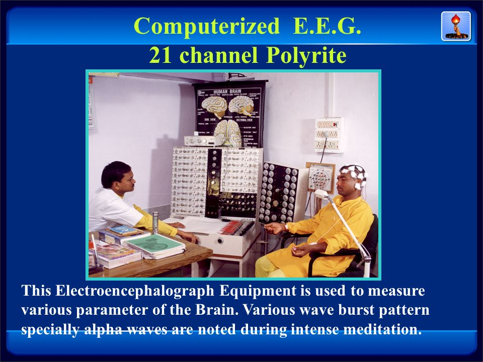 Computerized E.E.G. 21 channel Polyrite