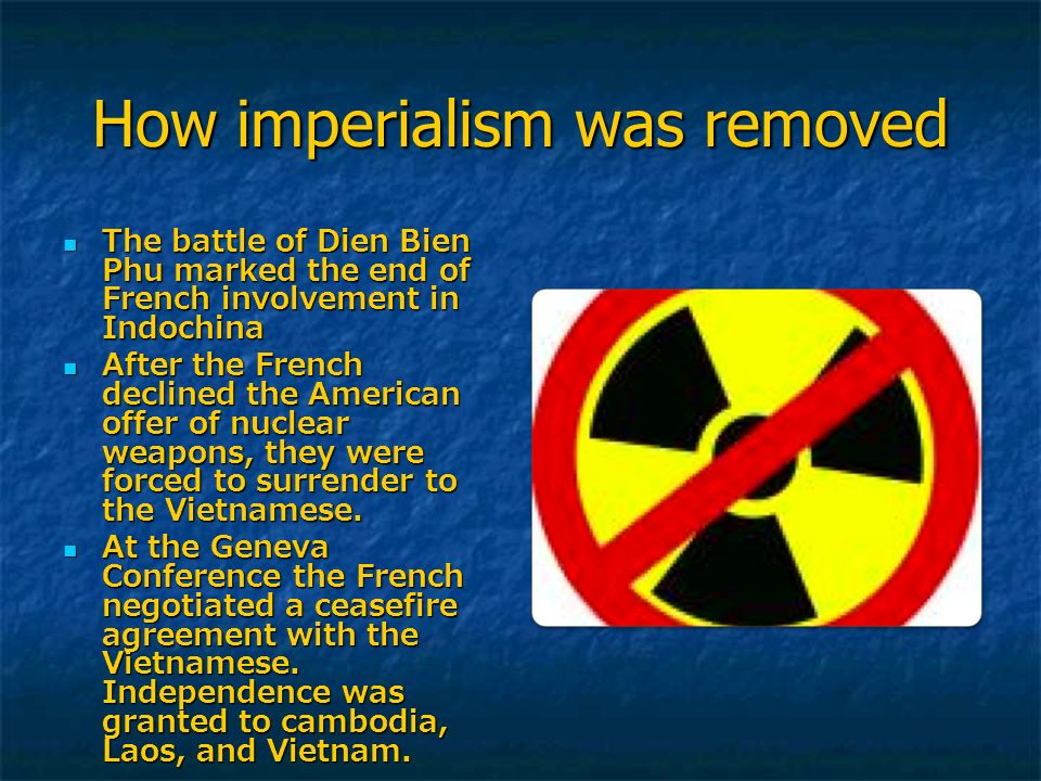 How imperialism was removed