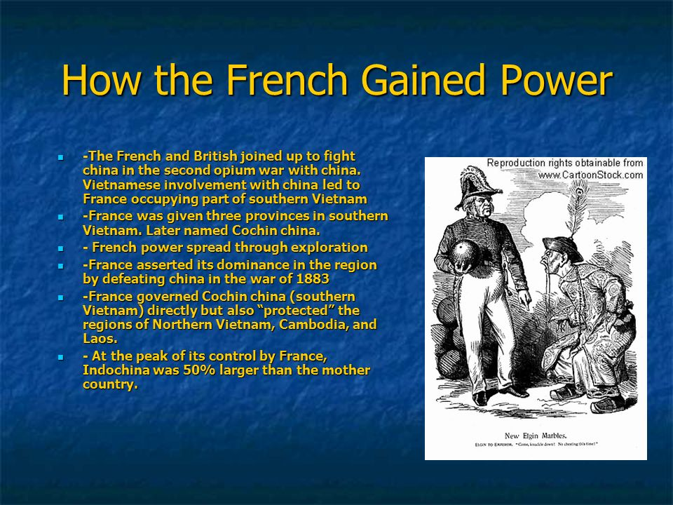 How the French Gained Power
