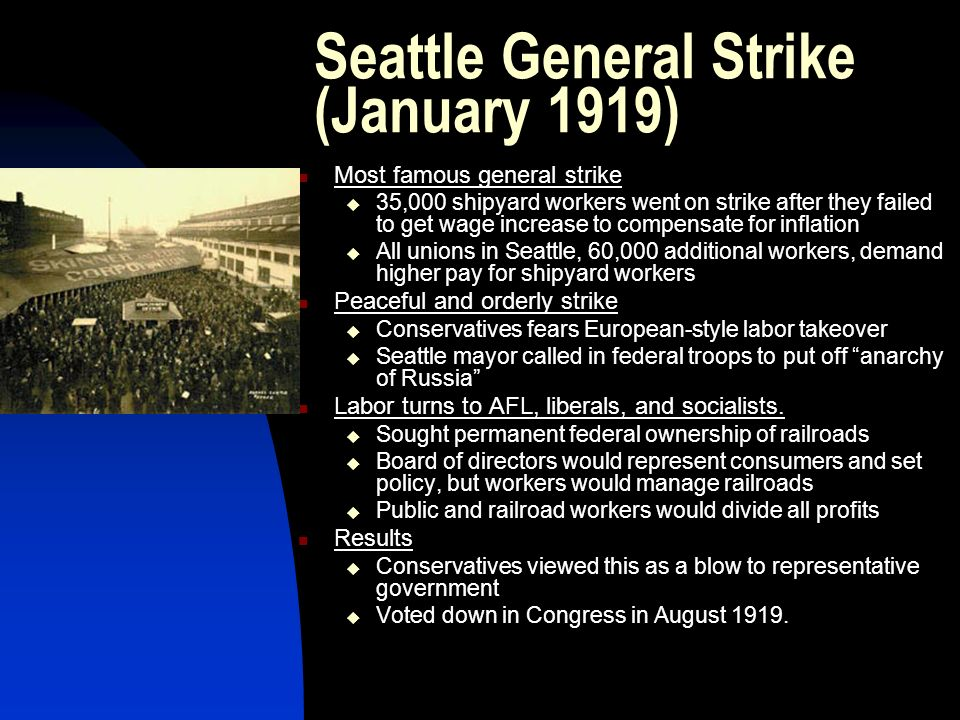 Seattle General Strike (January 1919)