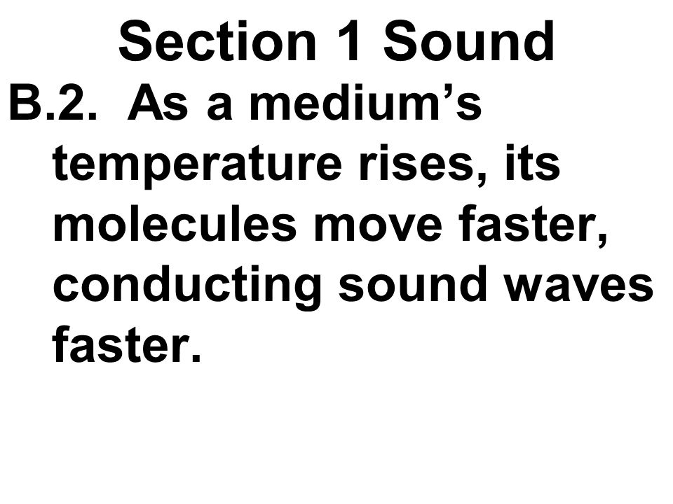 Section 1 Sound 2.