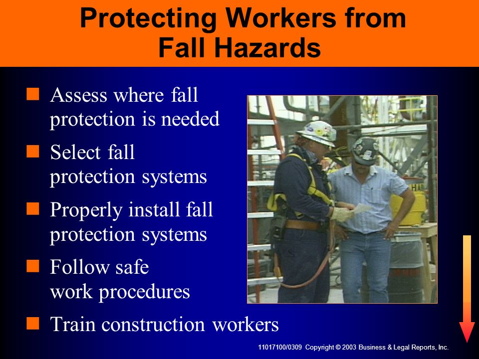 Protecting Workers from Fall Hazards