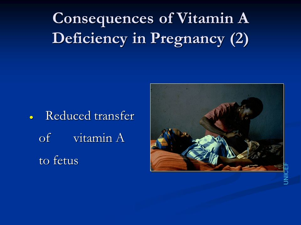 Consequences of Vitamin A Deficiency in Pregnancy (2)