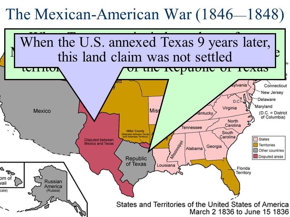 The Mexican-American War (1846—1848)