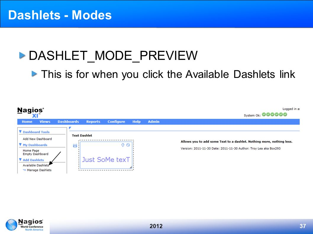 DASHLET_MODE_PREVIEW