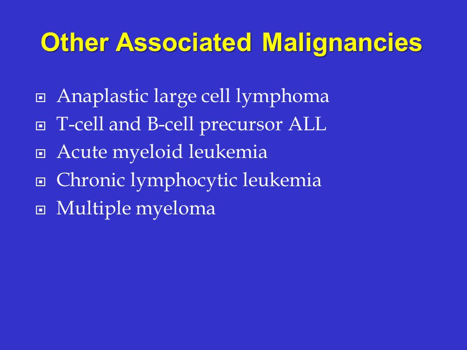 Other Associated Malignancies