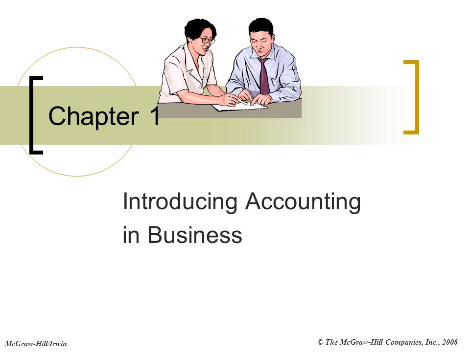 John j wild 4th edition financial accounting ppt download introducing accounting in business fandeluxe Choice Image