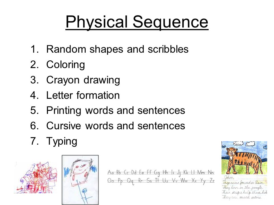 random 4 letter words handwriting in the classroom ppt 24191 | Physical Sequence Random shapes and scribbles Coloring Crayon drawing