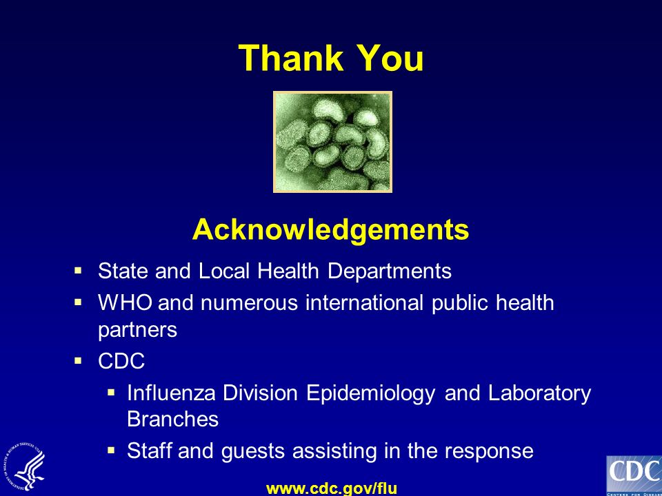 Thank You Acknowledgements