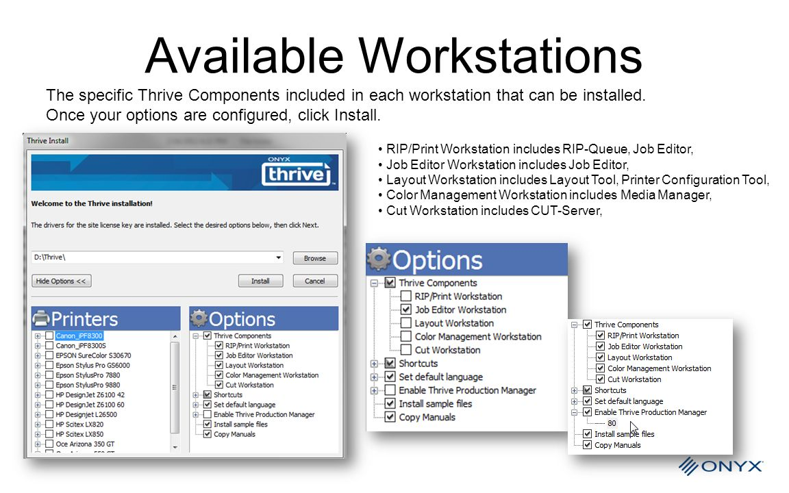 Available Workstations