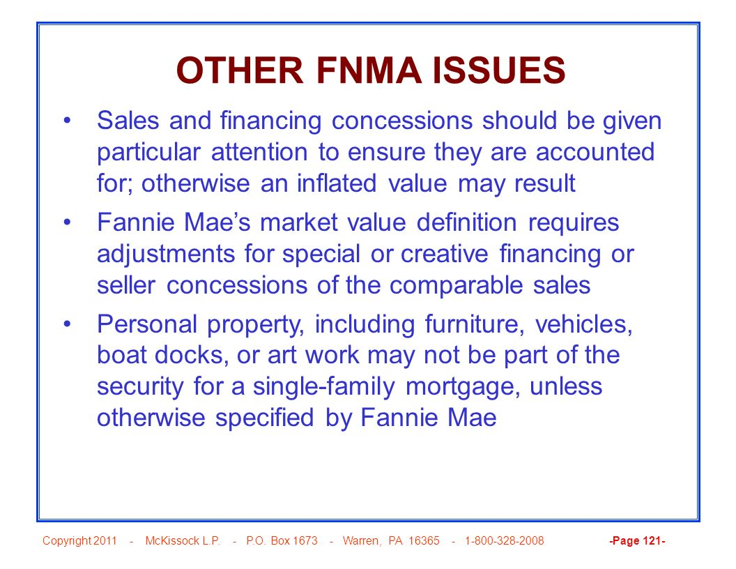 OTHER FNMA ISSUES