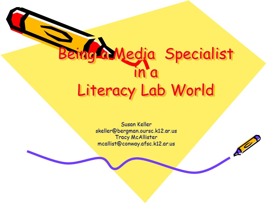 Being a Media Specialist in a Literacy Lab World