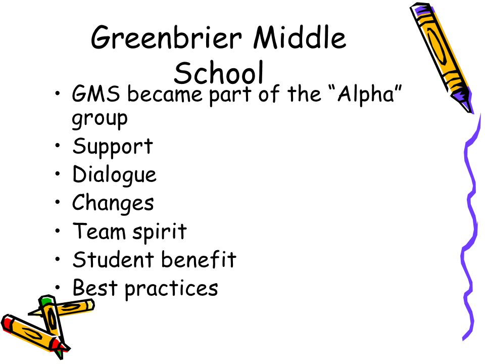 Greenbrier Middle School