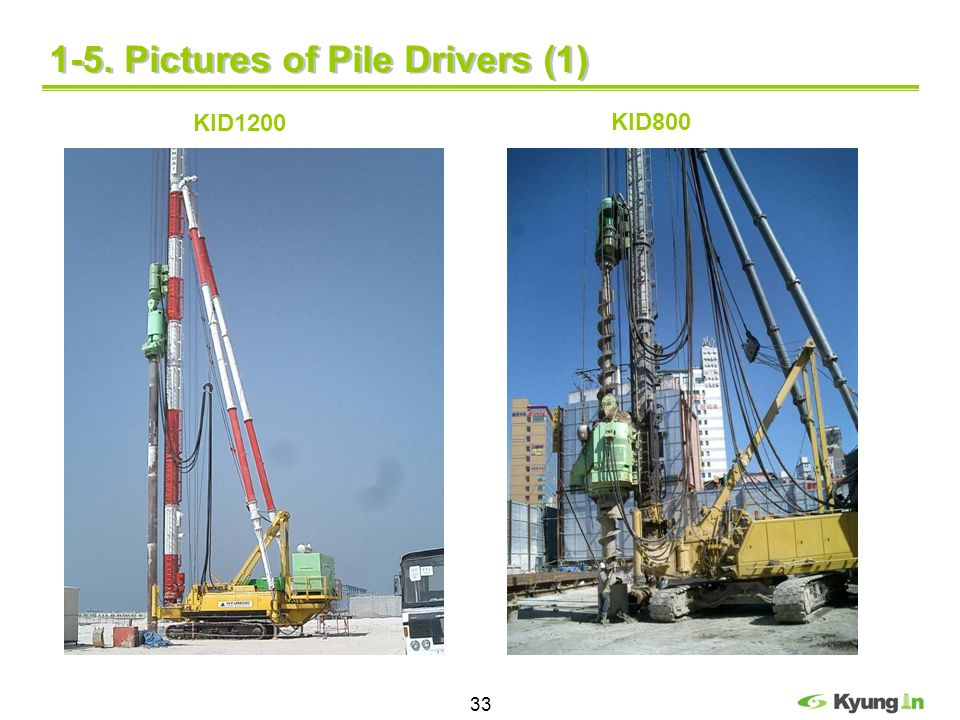 1-5. Pictures of Pile Drivers (1)