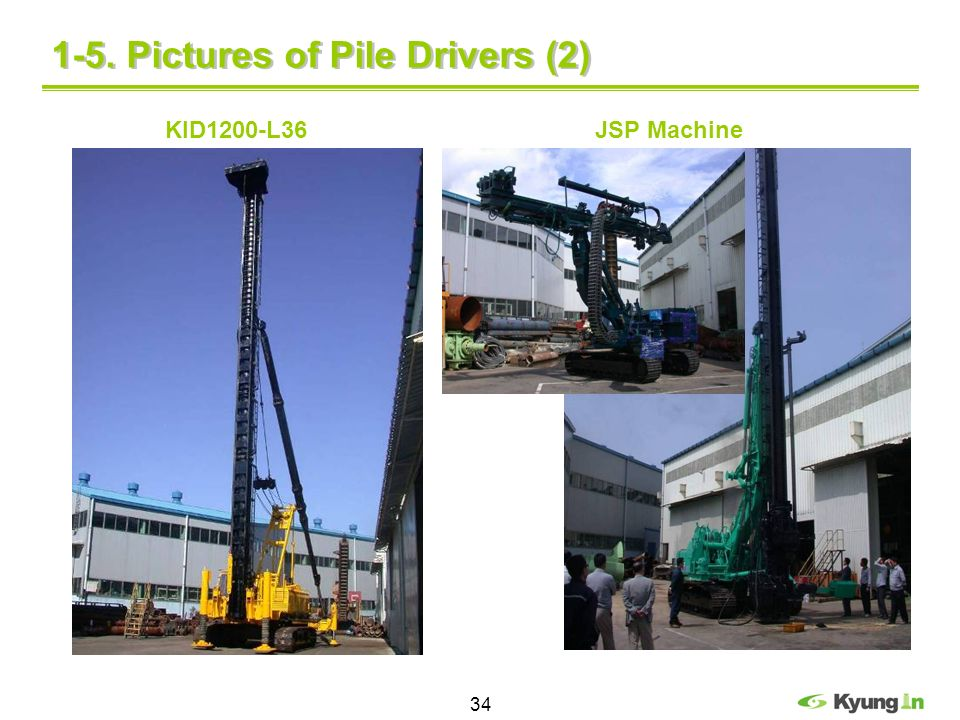 1-5. Pictures of Pile Drivers (2)