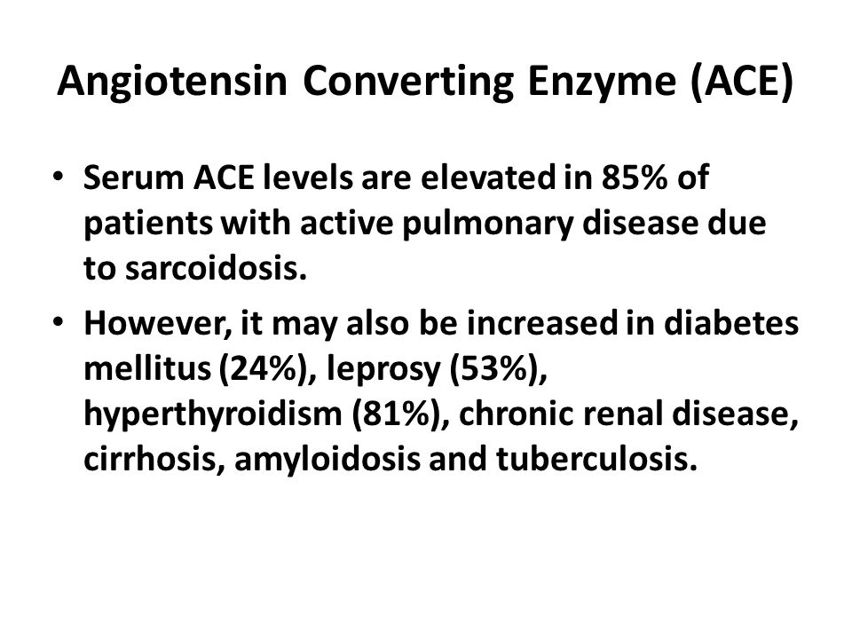 Angiotensin Converting Enzyme (ACE)