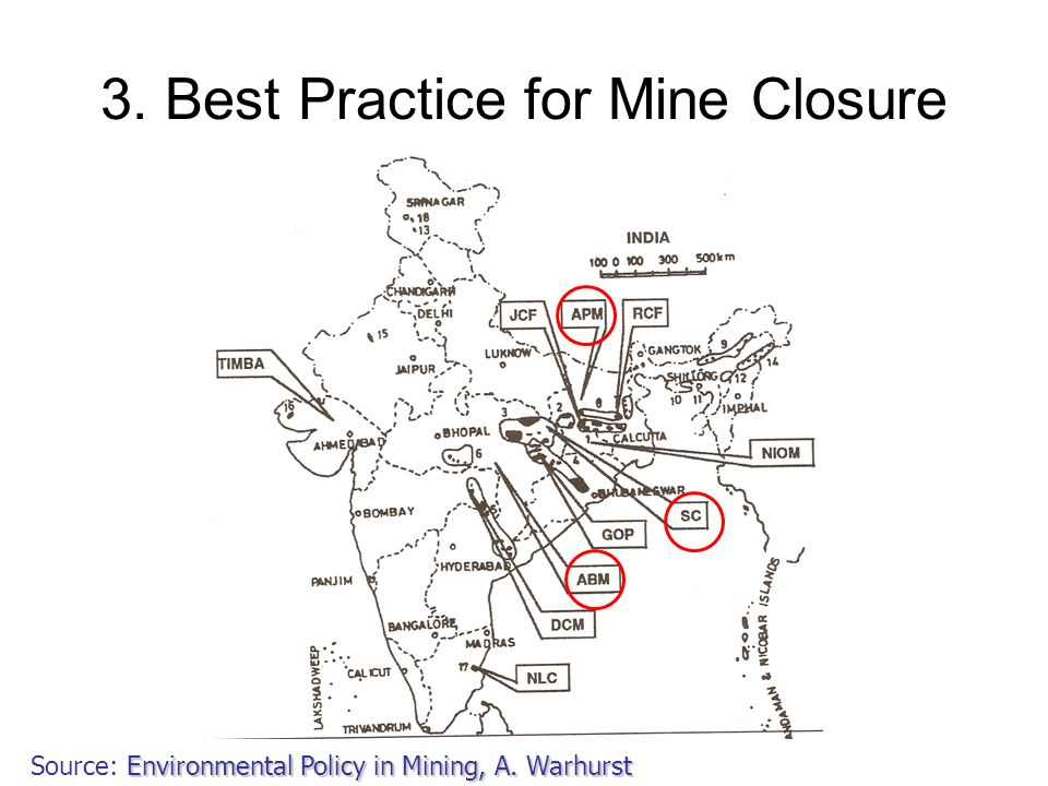 3. Best Practice for Mine Closure