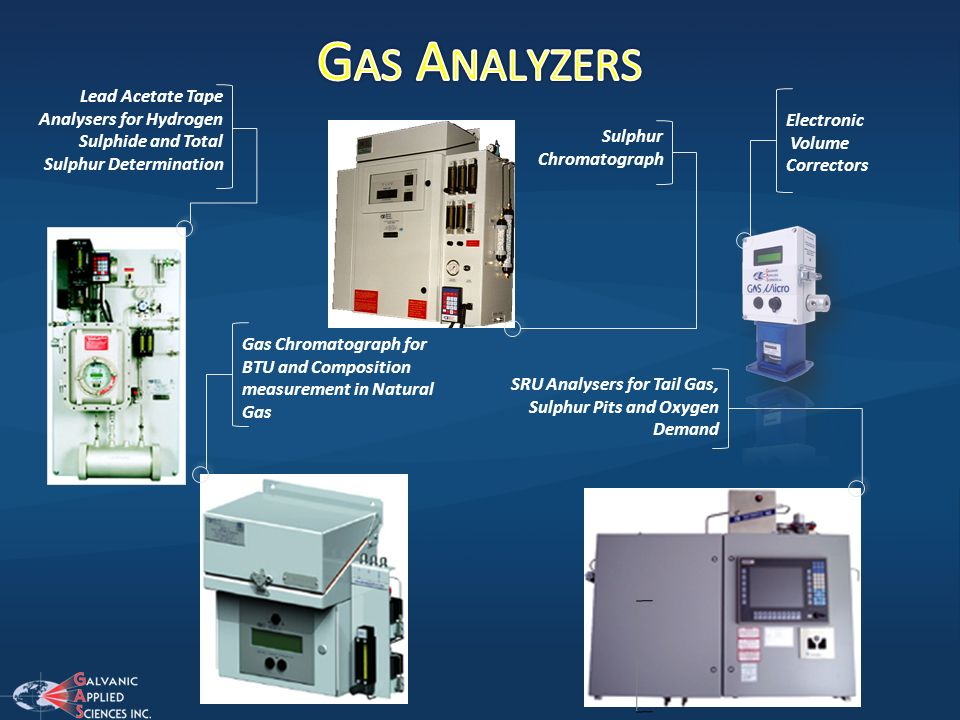 Gas Analyzers Lead Acetate Tape Analysers for Hydrogen Sulphide and Total Sulphur Determination. Electronic.