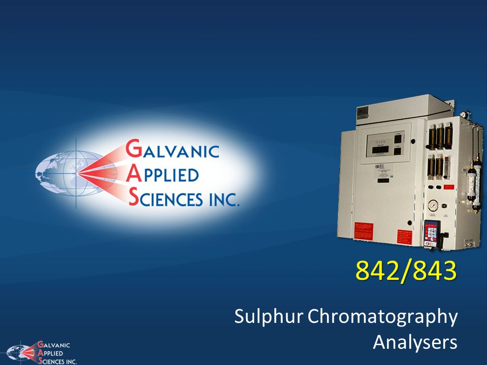 842/843 Sulphur Chromatography Analysers