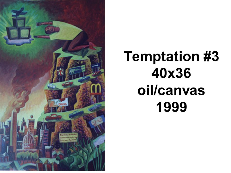 Temptation #3 40x36 oil/canvas 1999