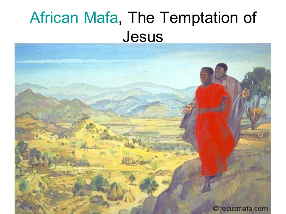 African Mafa, The Temptation of Jesus