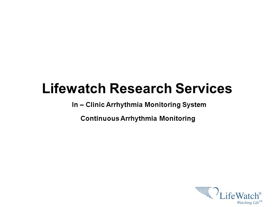 Lifewatch Research Services