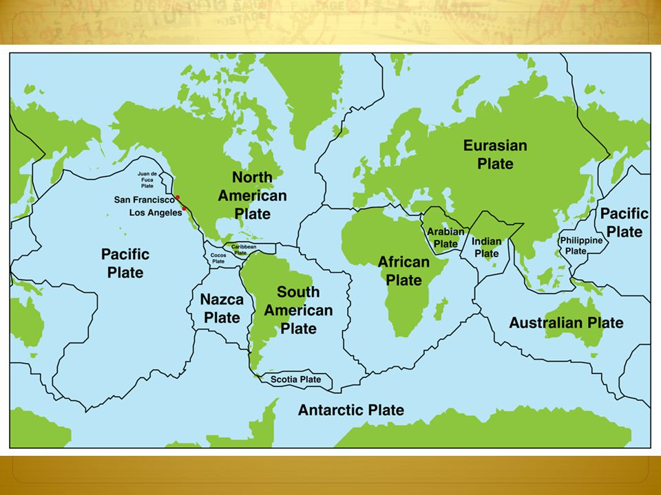 Plate Tectonics Students Will Be Able To Describe How The Lands And