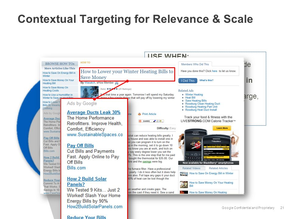 Contextual Targeting for Relevance & Scale