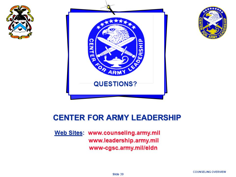 CENTER FOR ARMY LEADERSHIP