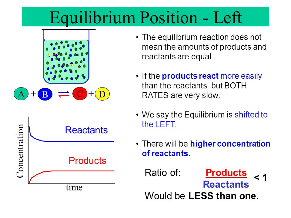 Equilibrium Position - Left