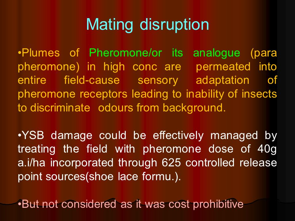 Mating disruption