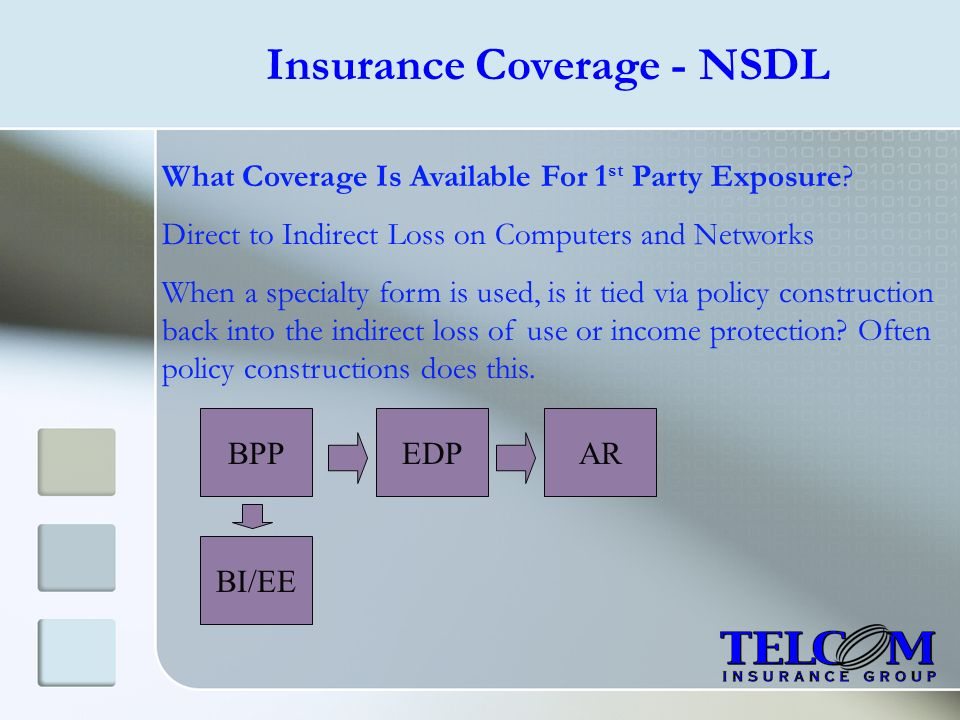 Insurance Coverage - NSDL