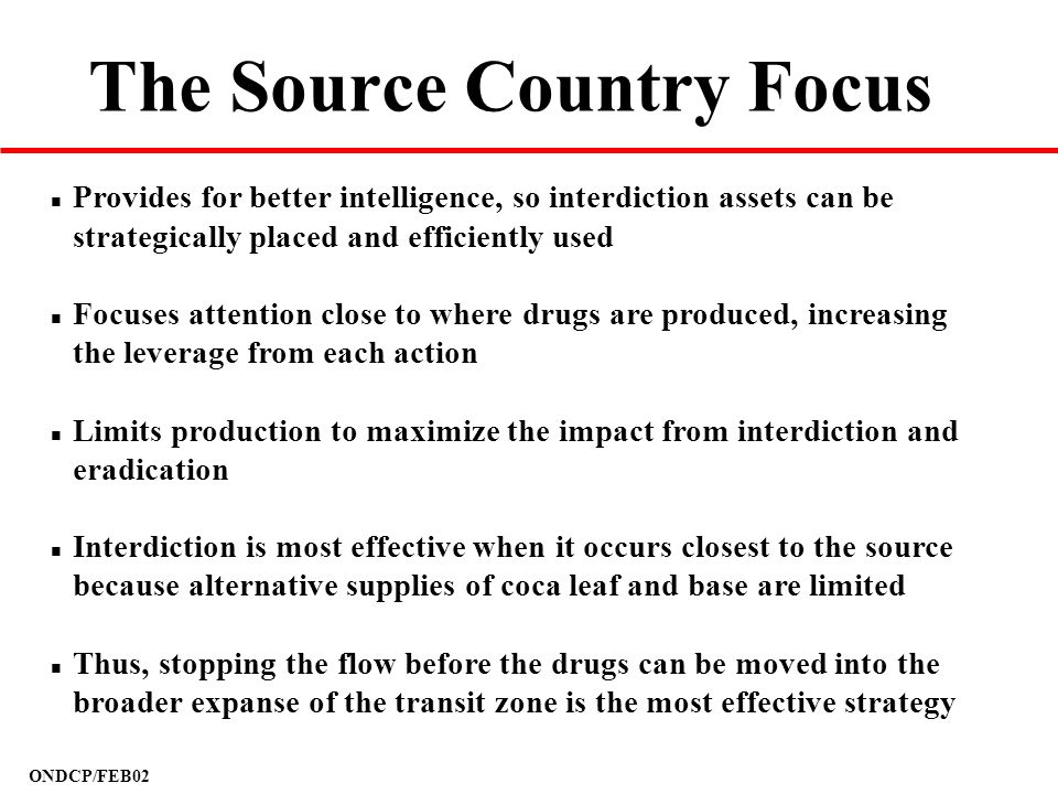The Source Country Focus