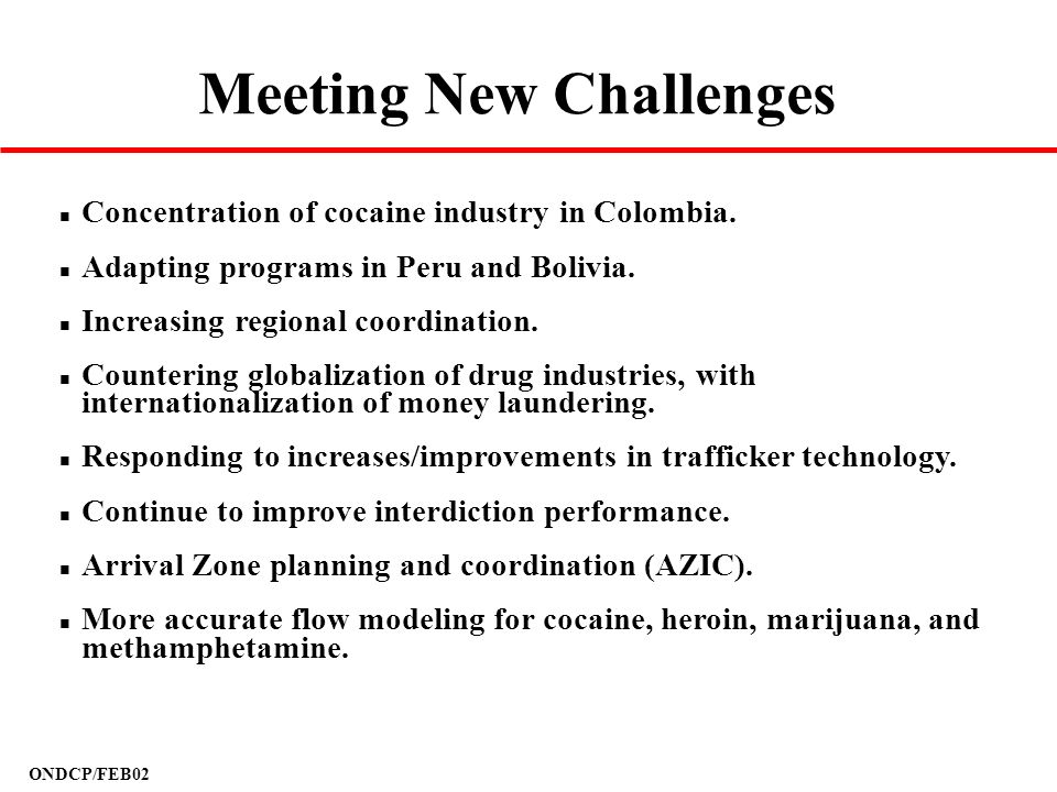 Meeting New Challenges