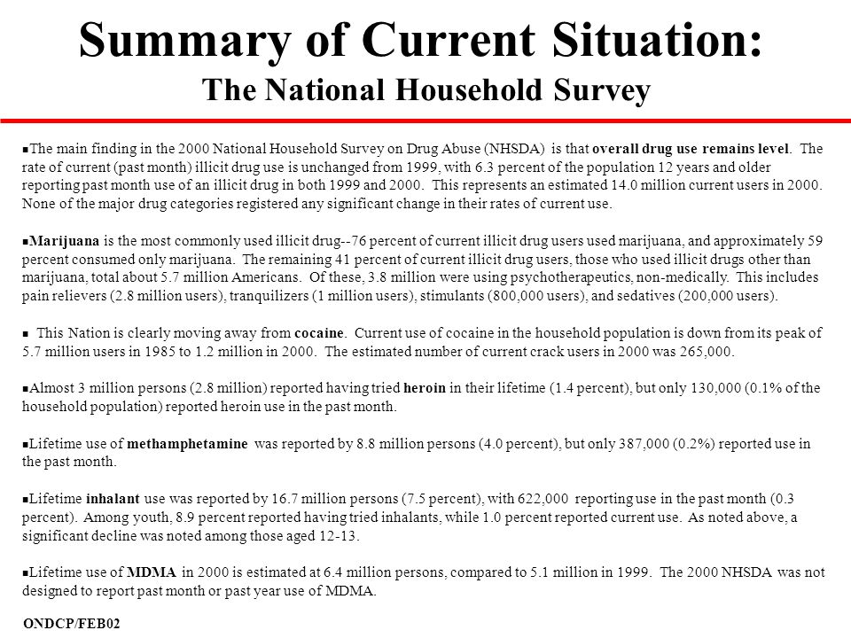 The National Household Survey