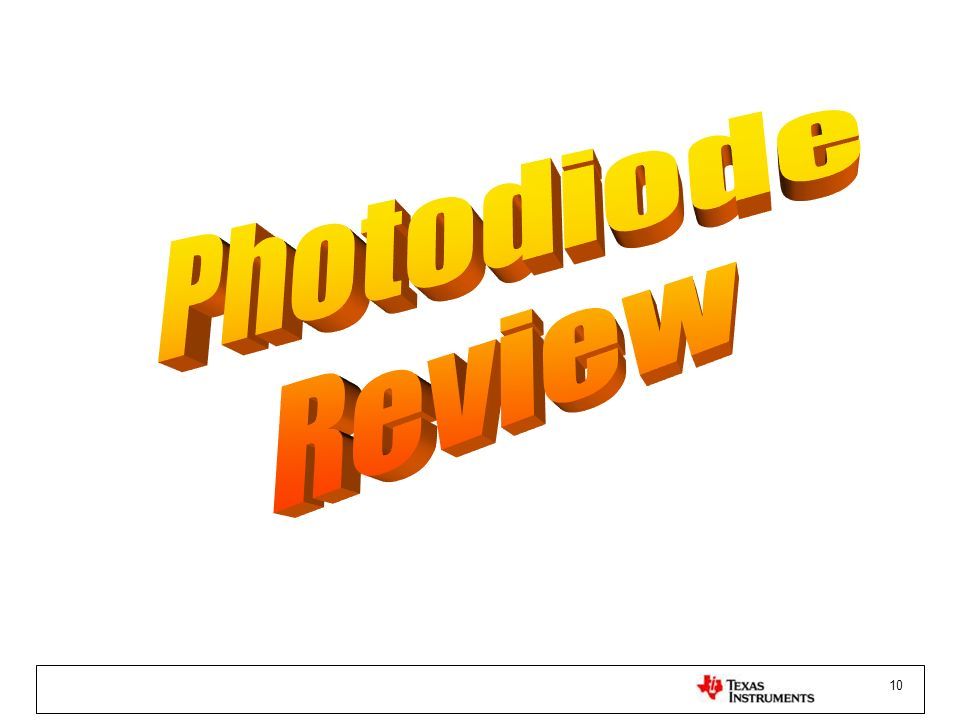 Photodiode Review