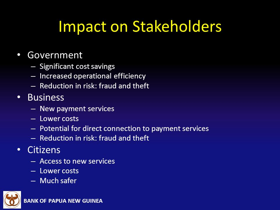 Impact on Stakeholders
