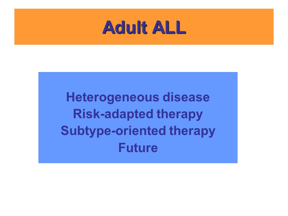Heterogeneous disease Subtype-oriented therapy