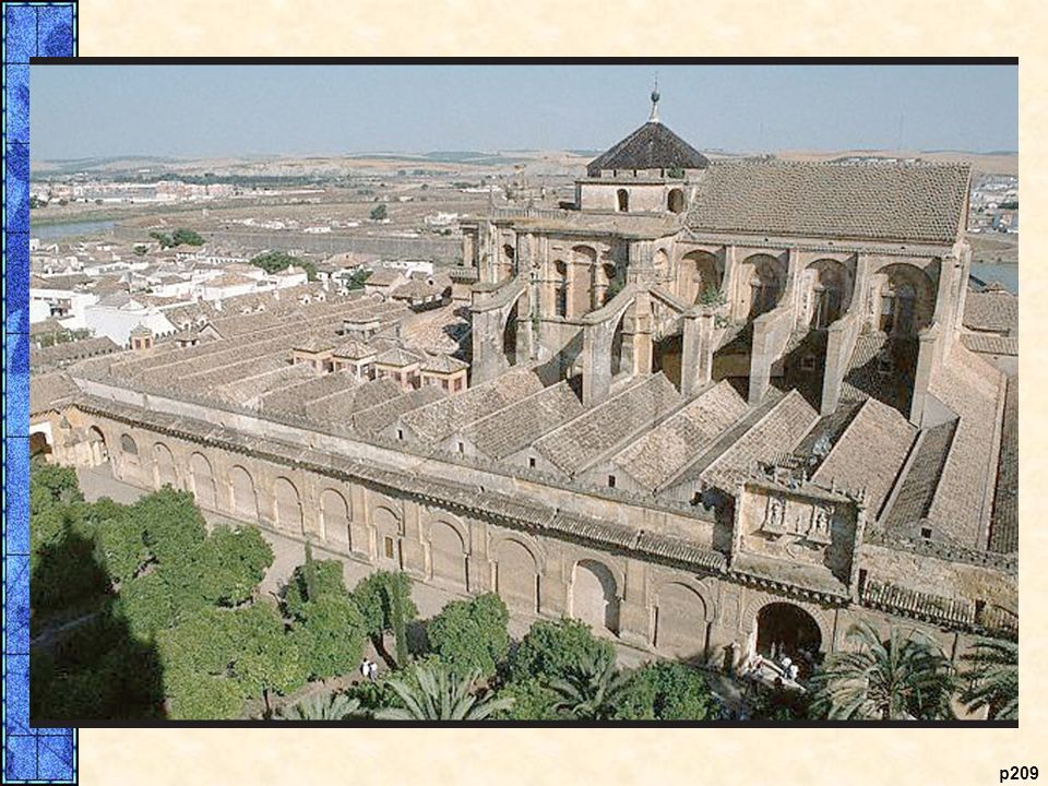 The Recycled Mosque. The Great Mosque at Coォrdoba was erected on the site of a Christian church built by the Visigoths. Earlier the same site had been dedicated to the Roman god Janus. In the eighth century, the Muslims incorporated parts of the