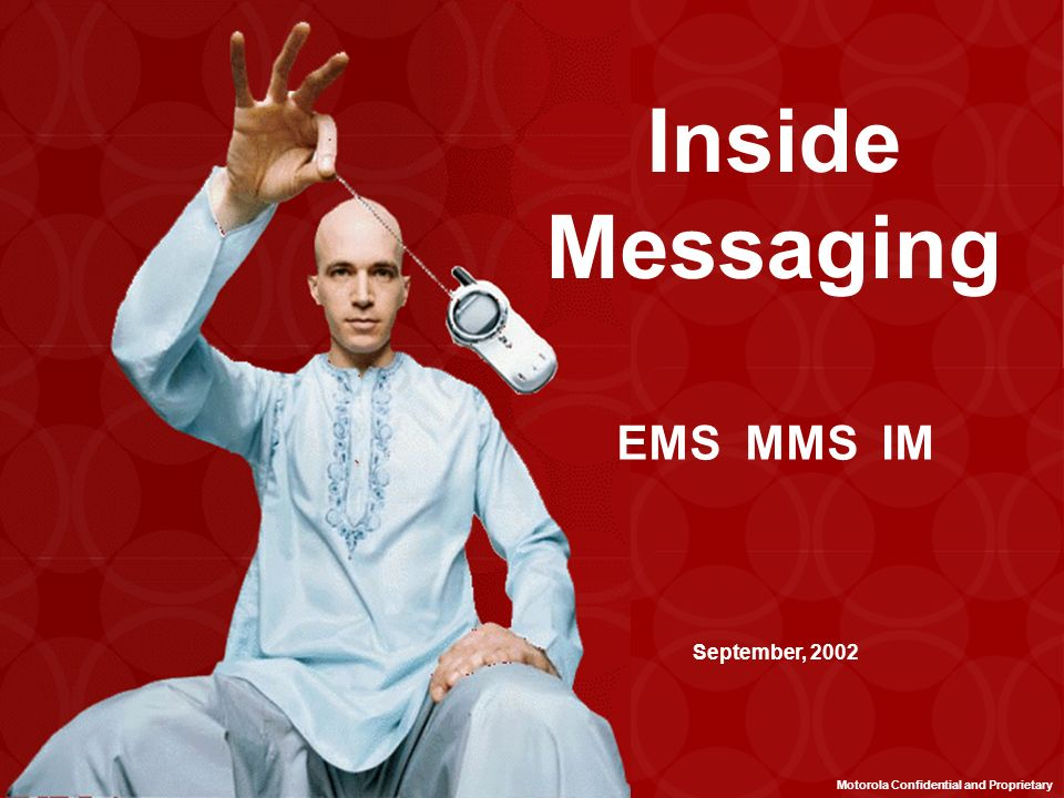 Inside Messaging EMS MMS IM September, 2002
