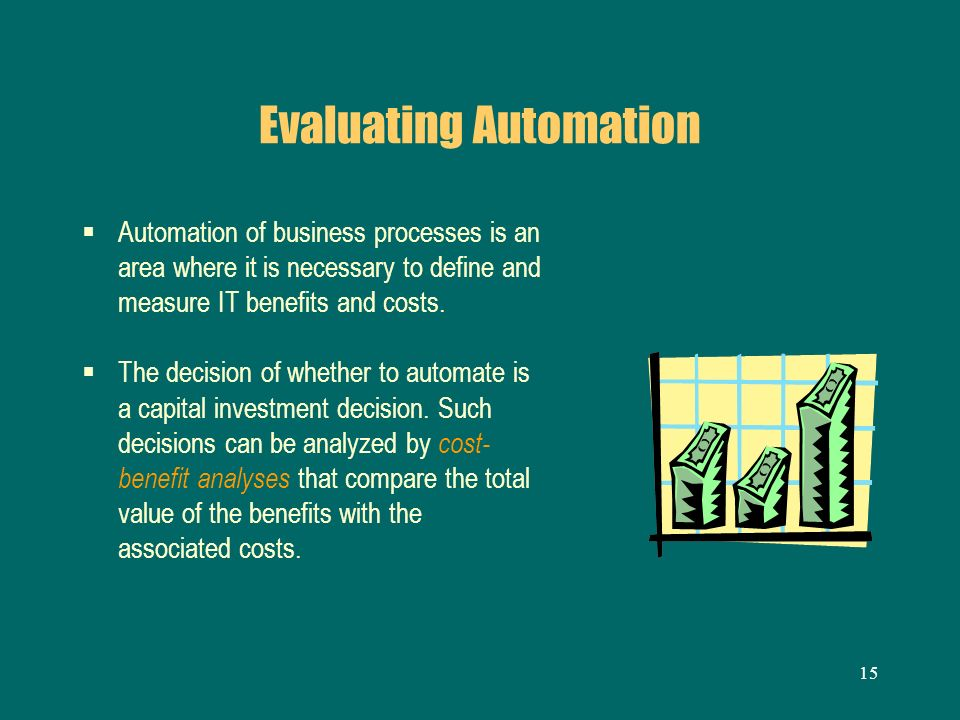 Evaluating Automation