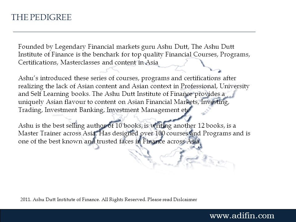 The Ashu Dutt Institute Of Finance Ppt Download