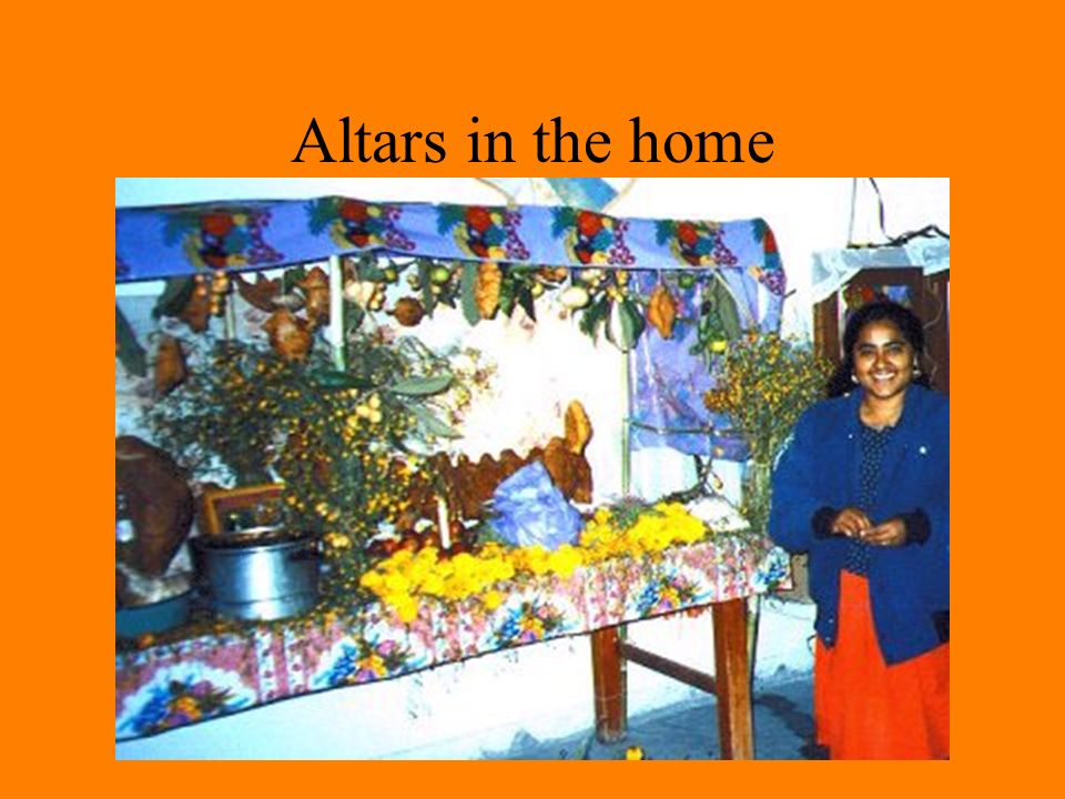 Altars in the home