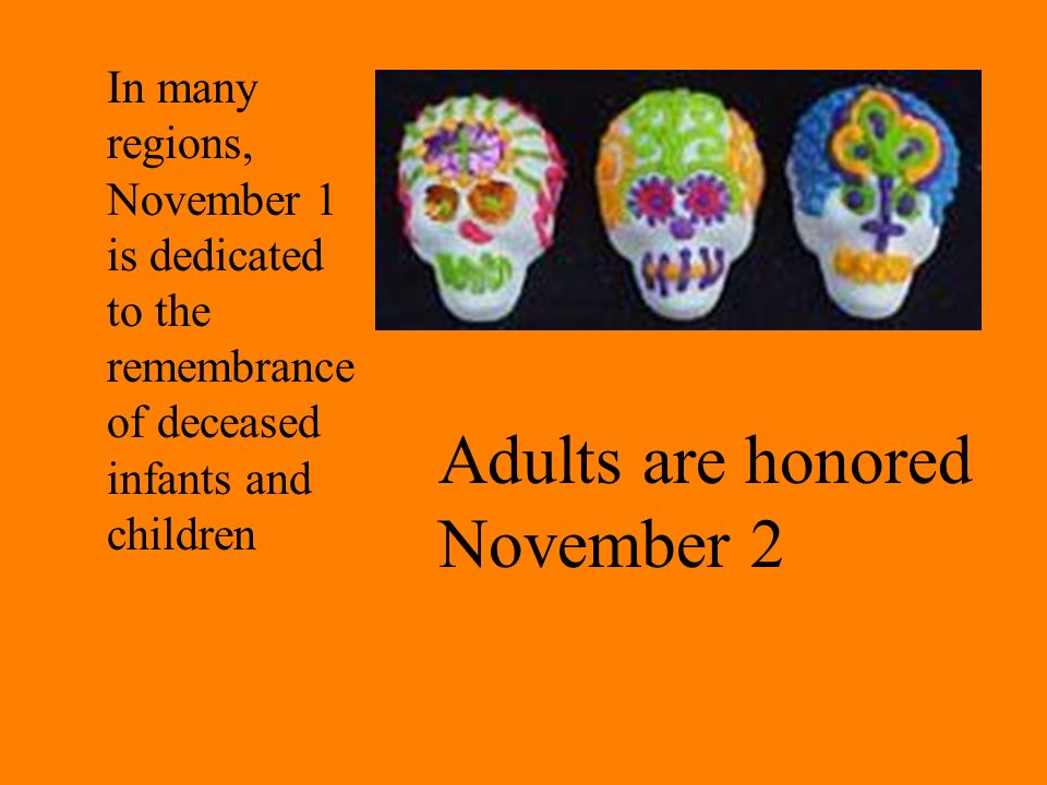 Adults are honored November 2