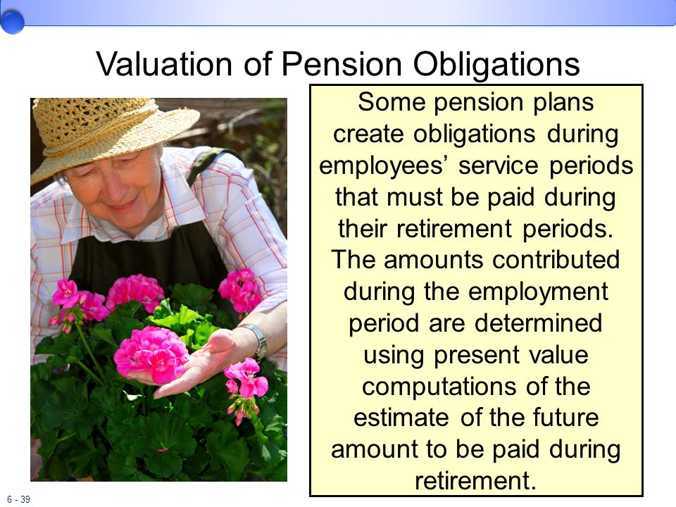 Valuation of Pension Obligations