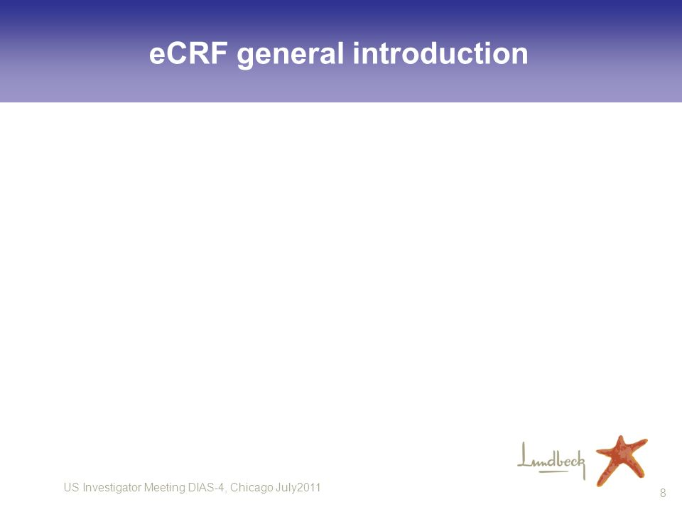 eCRF general introduction