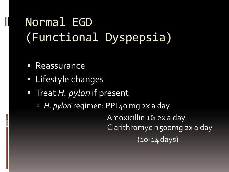 Normal EGD (Functional Dyspepsia)